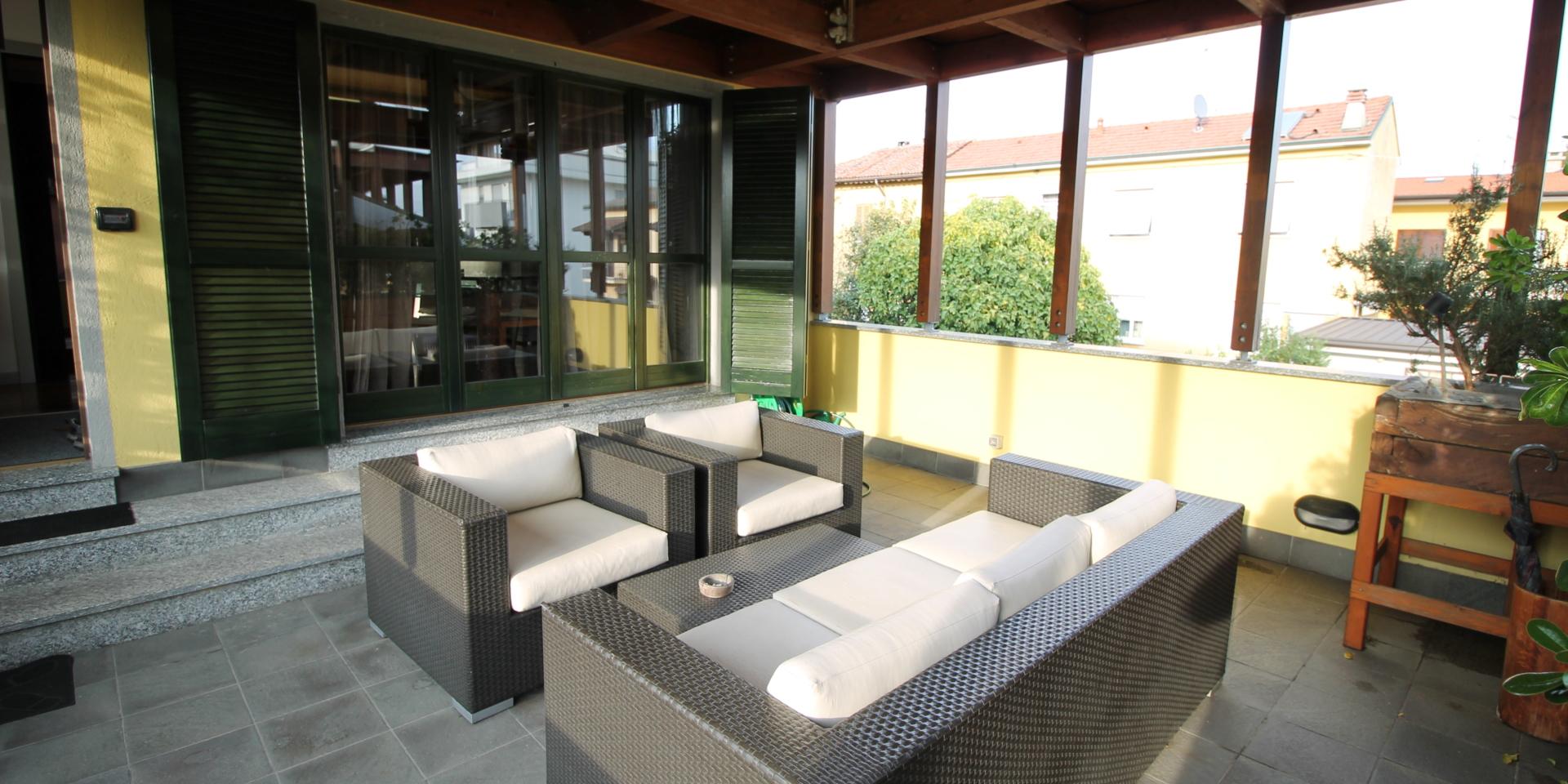 Lentate Sul Seveso (MB) Appartamento con Terrazzo